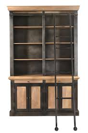 Bookcase With Ladder Bi1194 Cambridge Bookshelf With Ladder Bi1194 Cdi Furniture