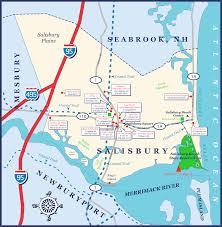 Ma Map Salisbury Town Map Salisbury Ma U2022 Mappery