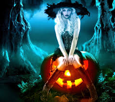 halloween background witch happy halloween day holiday wishes text pictures card for facebook