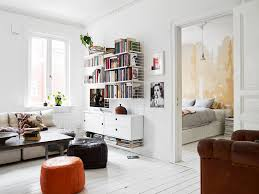 cool modern minimalist college apartment living room decorating