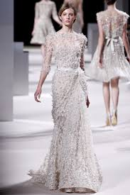 wedding dresses 2011 summer elie saab 2011 couture collection vogue