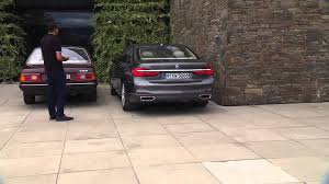 bmw ceo faint bmw 7 series remote control parking bmw group youtube