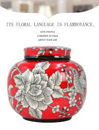 cost price chinese wholesale porcelain artwork ceramic storage