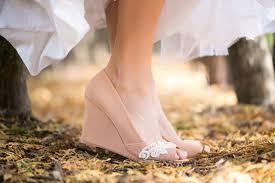 Wedding Shoes Size 9 Wedding Shoes Peep Toe Wedge Wedding Heels