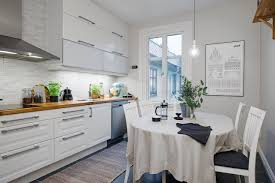 appliances stylish white scandinavian dining set with small eat