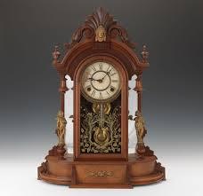 Mantel Clocks Antique Antique Canada Clock Co Mantel Clock 10 29 15 Sold 153 4
