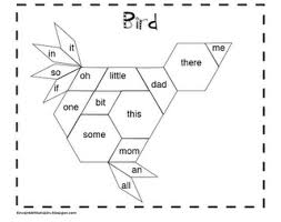 pattern blocks math activities sight word pattern block center activity read the word and then