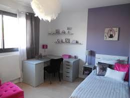 chambre violet et chambre de fille dans les tons violet et gris