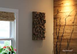 looks cool big modern house living room interior with wood panel