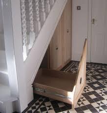 oak pull out under stairs drawers mijmoj oak pull out under stairs drawers 3