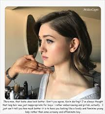 sissies with feminine hairstyles stories 72 best g images on pinterest crossdressed clothing and cow