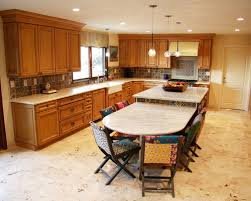 Kitchen Island With Table Home Design Ideas - Kitchen island with table attached