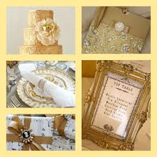 gold wedding theme aspirational wedding