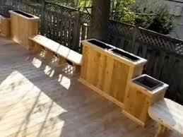 wood deck design doheny by patios et clôtures beaulieu pointe