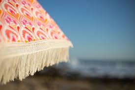 Beech Umbrella Thalia Beach Umbrella U2022 100 Uv Protection U2022 Beach Brella