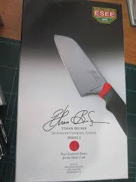 becker kitchen knives esee ethan becker signature cooking knives kitonlineknife