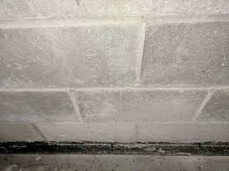 how to fix stair pattern in above ground basement wall