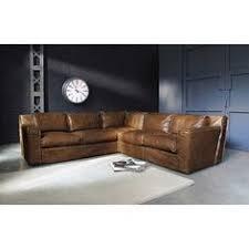la redoute canap駸 convertibles divano ad angolo vintage color cammello in pelle 5 posti camels