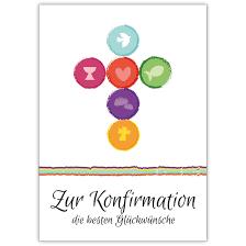 moderne sprüche zur konfirmation frische moderne konfirmations karte mit kreuz aus symbolen zur