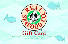gift card company real seafood company gift card mainstreet ventures