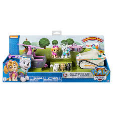 paw patrol adventure bay animal rescue playset skye