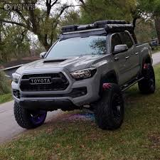 toyota lifted 2017 toyota tacoma red dirt road riot total chaos fabrication