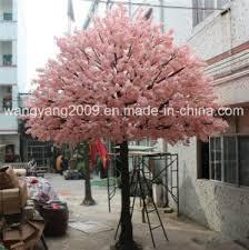 china popular pink artificial tree centerpiece china