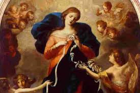 buddhist thanksgiving prayer novena to mary undoer of knots for complex problems