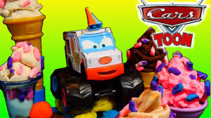 cars toons mater u0027s tall tales screamer monster truck play