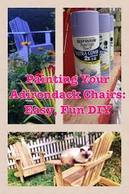 Colored Adirondack Chairs 35 Best Painted Chairs Images On Pinterest Painted Chairs