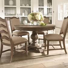 cobblestone dining cobblestone 5 piece pedestal base table and