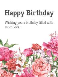 18 best flower birthday cards images on pinterest birthday cards