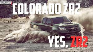 the 2017 chevrolet colorado zr2 starts at 40 995 autoblog