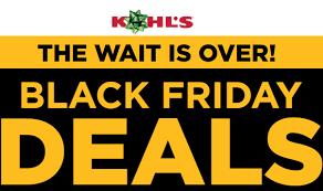 live now kohl s black friday sale