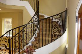 Baluster Design Ideas Curvy White Staircase With Brown Wooden Tread And Carved Black