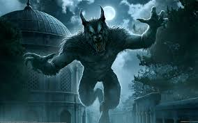 kerem beyit werewolf dark horror evil creepy spooky animals wolf