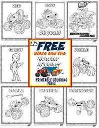 blaze monster machines party ideas free printable