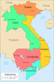Maps Of France by A Map Of French Indochina Maps Pinterest