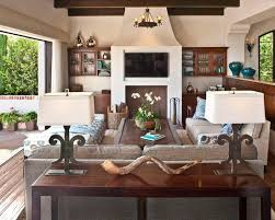 A Touch Of Spanish Colonial In The Palisades Family Room - Furniture for family room