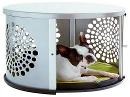 newport pet crate end table special seat dog crate end table dog crate furniture here is a diy