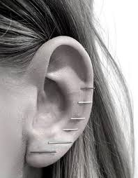 earrings all the way up 90 ways to express your individuality with a cartilage piercing