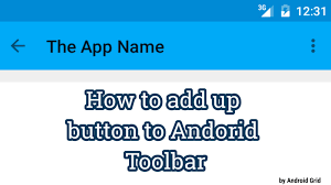 android studio button how to implement back up button on toolbar android studio