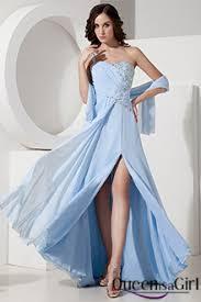 light blue silk dress light blue prom dresses