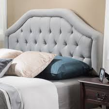 Diy Fabric Tufted Headboard by Collection In Fabric Queen Headboard Angelica Adjustable Full