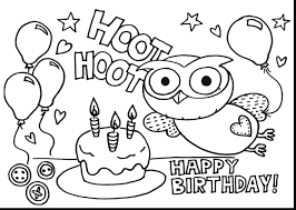printable birthday cake coloring free wedding pages cartoon