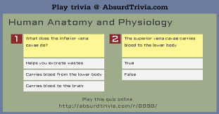 Anatomy And Physiology Chemistry Quiz Trivia Quiz Human Anatomy And Physiology