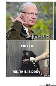 Meme King - king from sweden by ingen meme center