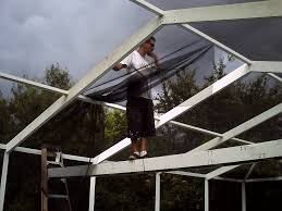 Painting Aluminum Screen Enclosures by Fix Your Pool Screen Roof Panels Diy For Daredevils Home Fixated