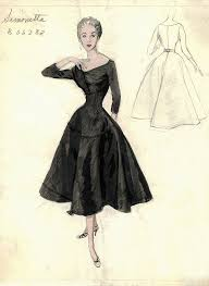 bergdorf goodman archives vintage designer fashion plates