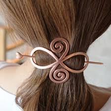 hair plait with chopstick women hairpin chignon pin heart star geometry hair stick hair